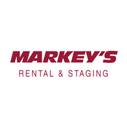 Markey's Rental & Staging Logo