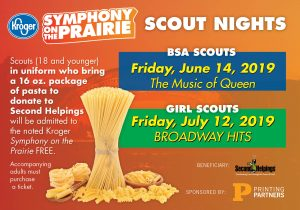 2019 Scout Nights at Symphony on the Prairie