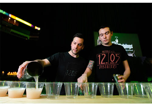 Bartenders Pouring